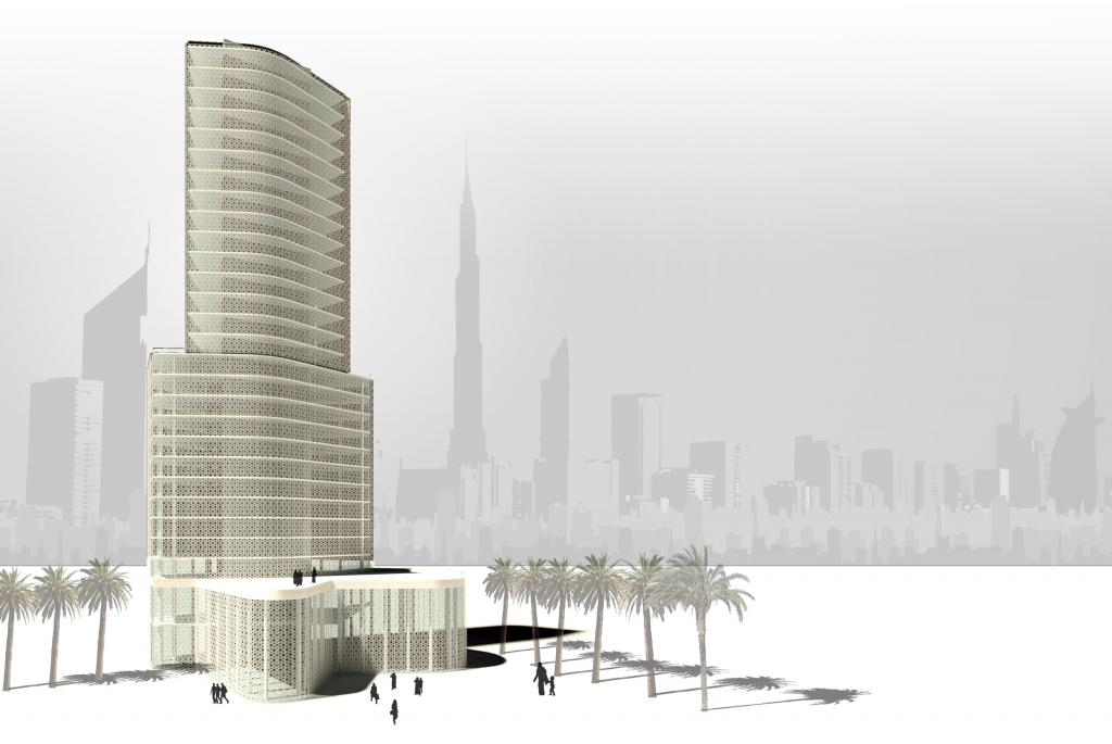 DUBAI Architecture School Tower